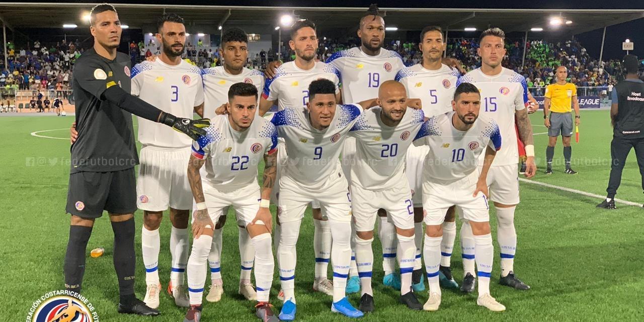 CRC vs Curazao Liga de Naciones noviembre 2019
