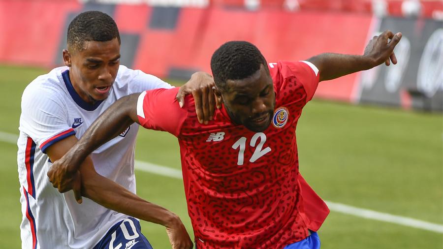 Reggie Cannon USMNT vs Costa Rica Rio Tinto Stadium 2021